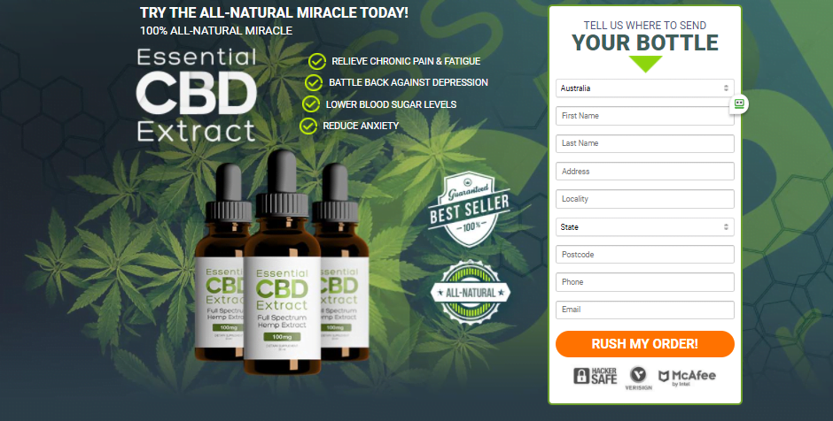 Essential CBD hemp extract oil is clinically tested for quality and free from side effects. It has many potential benefits for the skin, stress relief, and more.