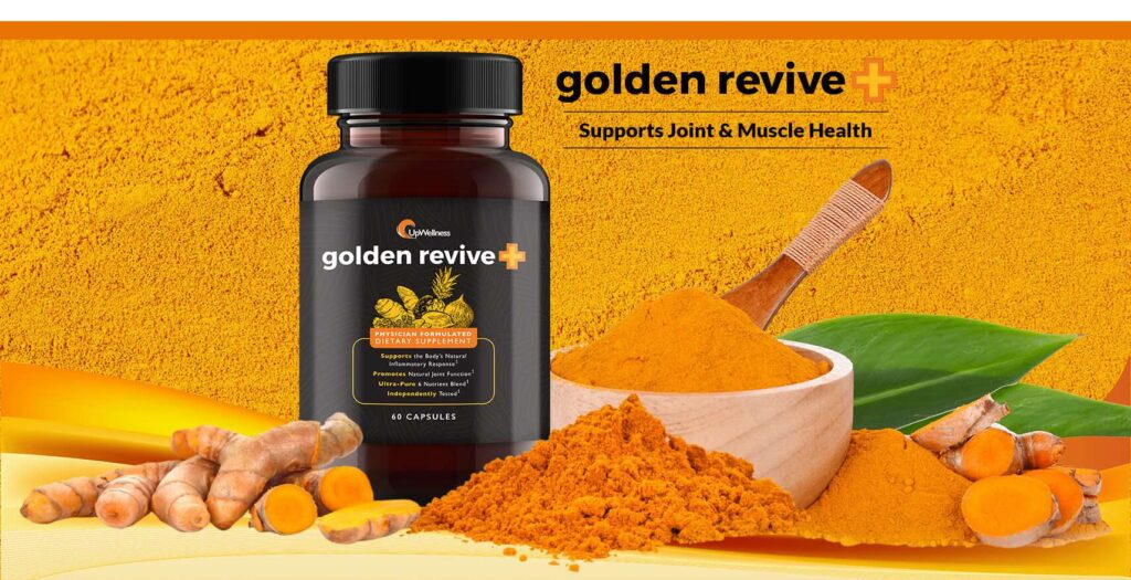 Golden Revive Plus reviews have found that this joint pain reliever is an exclusive formula that takes care of your joints, muscles, bones, and nerves.